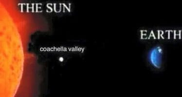 The Coachella Valley will be under an excessive heat watch through Labor Day Weekend