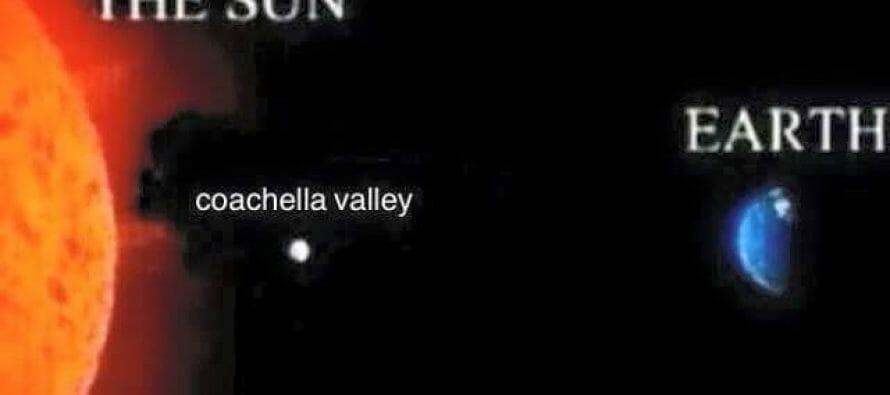 The Coachella Valley will be under an excessive heat watch through Labor Day Weekend