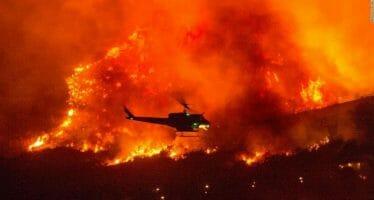 Firefighter Dies Battling The El Dorado Fire Sparked By Gender Reveal Party