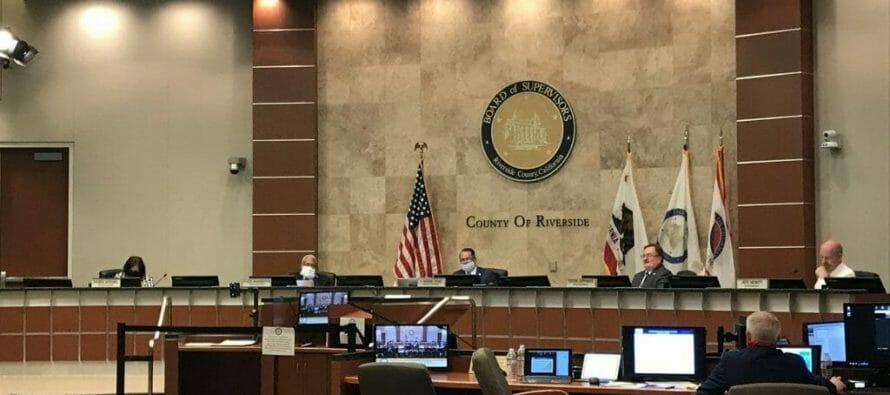 "Riverside County 3-2 To Consider Open Defiance to California Gov. Newsom's ""Blueprint"""