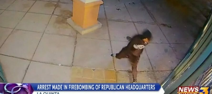 Firebombing Of the Republican Office: Palm Desert Man Charged