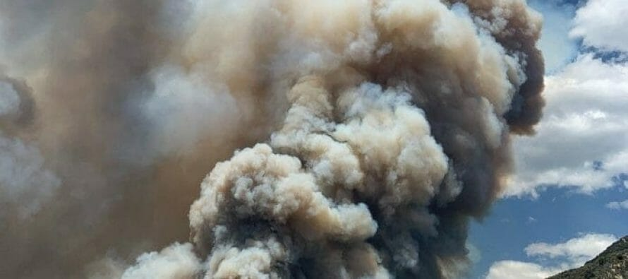 Fast Burning El Dorado Fire forces evacuations in Oak Glen.