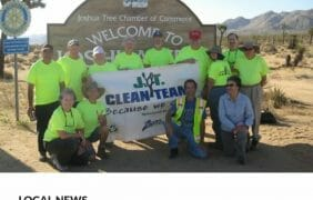 THE JOSHUA TREE CLEAN TEAM RETURNS AND YOU CAN JOIN THEM