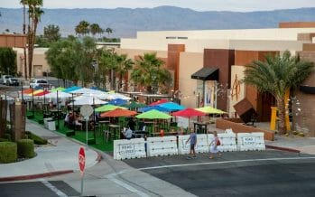 Debut Of Lupine Plaza, New Outdoor Area For Palm Desert Restaurants And Diners To Enjoy!