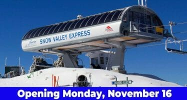 SNOW VALLEY OPENS ITS 2020/2021 SKI SEASON THIS MORNING