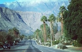 Snow Showers, Rain: High of 66F, Cold Front Moves Into the Coachella Valley
