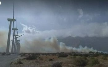 Evacuation Orders Issued In North Palm Springs Due To Mulch Fire