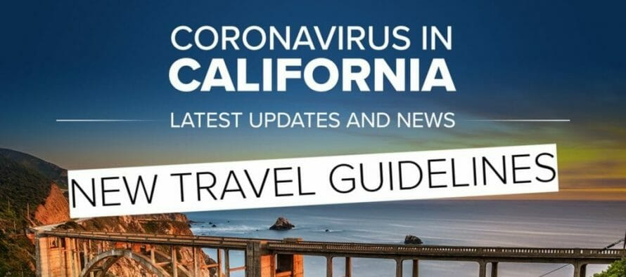 California Issues Travel Advisory Asking Visitors To Quarantine For 2 Weeks