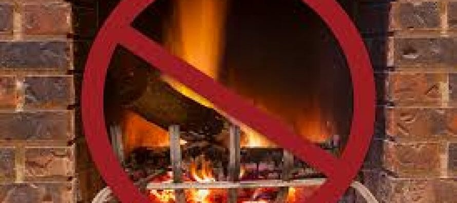 Wood Burning Ban Was Issued On Saturday In Parts Of The South Coast Basin, South Coast Air Quality Management District Announces