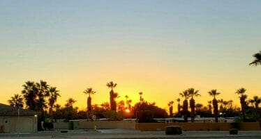 Happening Live – La Quinta High School Class of 2021 Senior Sunrise Event on Campus This Morning ❤!