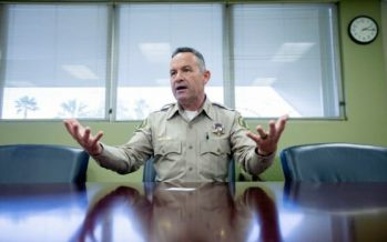 Riverside County Sheriff Chad Bianco Publicly Decried Gov. Newsom Displaying Dictorial Attitude