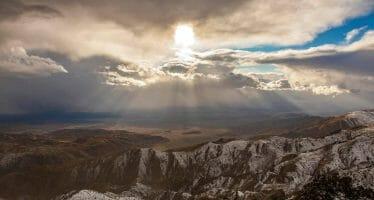 Snow Days Joshua Tree National Park by Daniel Burr