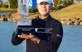 Si Woo Kim wins PGA Tour's The American Express in La Quinta, Ca