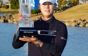 Si Woo Kim wins PGA Tour's The American Express in La Quinta, Ca