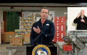 History Making Visit, Newsom Visits Coachella Today