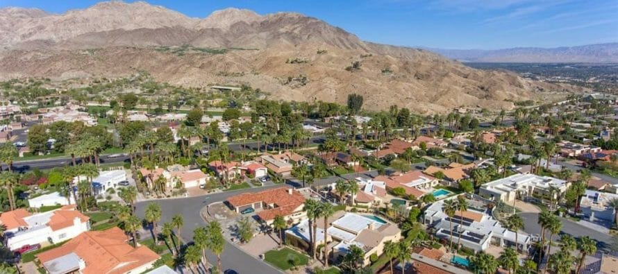 The Median House In The Greater Palm Springs Area Eclipses 1/2 Million Dollars.