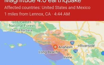 4.0 magnitude earthquake rattles Los Angeles