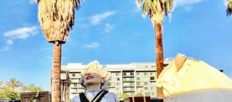 """""""Forever Marilyn"""" Installation Begins Today; Public Unveiling June 20th"""
