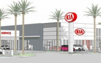 Kia Dealership Moves Forward at I-10 Auto Mall