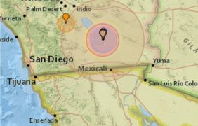 5.3 Magnitude Earthquake near Brawley, California!