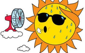 Over 100 degree temps forecast for California, Oregon, Arizona, Nevada
