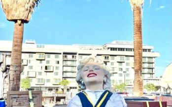 Forever Marilyn Unveiling On Father's Day In Palm Springs