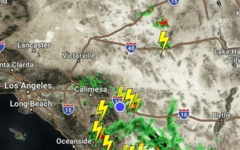Flashflood Watch in effect till 7pm issued for the Coachella Valley