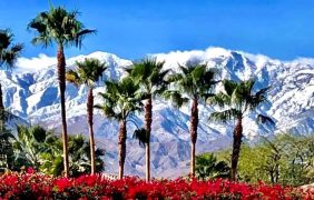 Palm Springs Tramway Snow Contest