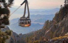 PALM SPRINGS AERIAL TRAMWAY REOPENS MONDAY