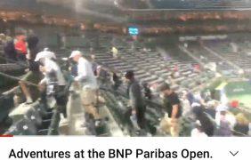 Adventures at the BNP Paribas Open